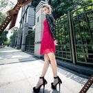 東京衣服-嬌蘭蕾絲修飾顯瘦短版小外套  黑 (共二色)
