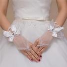 韓式新娘手套白色婚禮手套