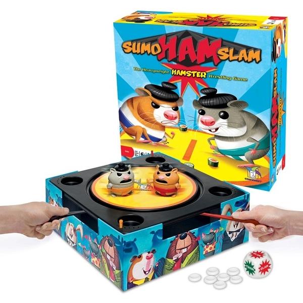 『高雄龐奇桌遊』 倉鼠相撲 Sumo Ham Slam 附中文說明書 正版桌上遊戲專賣店
