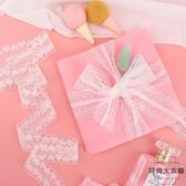 可愛蝴蝶結發飾禮品花束鮮花彩帶禮品包裝絲帶蕾絲花邊【時尚大衣櫥】