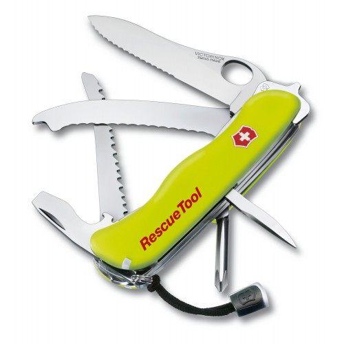 瑞士 維氏 Victorinox Rescue Tool系列 15種功能 瑞士刀 0.8623 消防救生刀 露營│登山│救難│求救
