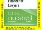 二手書博民逛書店Accounting罕見And Finance For Lawyers In A NutshellY25626