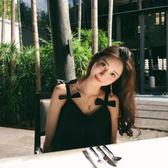 洋裝 海邊度假吊帶連身裙短泰國旅游沙灘裙