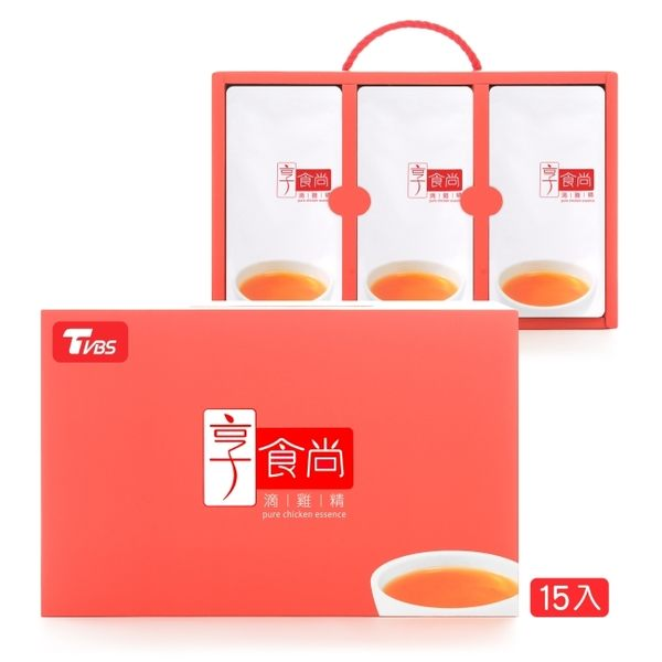 TVBS享食尚滴雞精15入-箱購