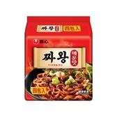 韓國 農心 炸王醡醬麵(辣味)140gx4包【小三美日】團購/泡麵