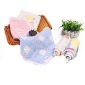 紗布口水巾嬰兒洗臉巾純棉小方巾手絹手帕兒童新生兒寶寶毛巾 時尚芭莎鞋櫃