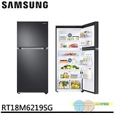 限區含配送+基本安裝SAMSUNG 三星 500公升雙循環科技溫控雙門冰箱│不鏽鋼黑│RT18M6219SG