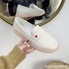 護士鞋 不累腳護士鞋春秋季新款平底防滑厚軟底棉鞋淺口鞋小白鞋 星河光年