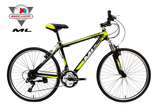 鋁合金26吋21速登山車 平價SHIMANO 山地車 微轉指撥定位越野車 美騎樂自行車 ML-187D-M 台灣組裝