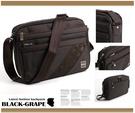 黑葡萄【S1377】多層斜格紋時尚側背包/多層置物袋/可放平板電腦