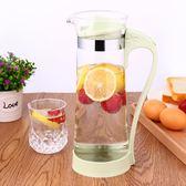耐高溫涼水壺玻璃加厚大容量冷水壺飲料果汁杯大號扎壺家用花茶壺