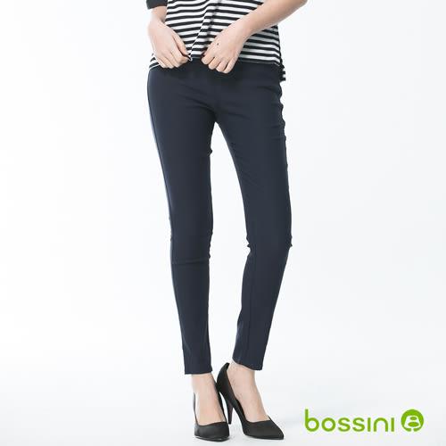 超彈窄管褲18海軍藍-bossini女裝