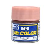 GSI 郡氏 MR.COLOR 組裝模型工具 010 銅色 金屬漆 硝基漆油性顏料 TOYeGO 玩具e哥