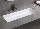 【麗室衛浴】方形面盆80cm大尺寸加大加深 下嵌式臉盆L- 1507C