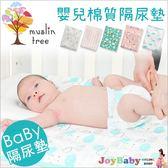 嬰兒隔尿墊MuslinTree產褥墊看護墊 全棉防水透氣生理墊(70*115)-JoyBaby