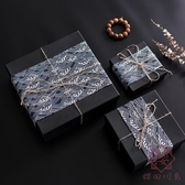 禮物盒空盒禮品盒精美生日子男生包裝盒簡約【櫻田川島】