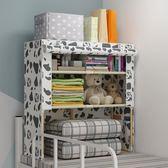 簡易實木衣櫃宿舍床上櫃子上下鋪收納櫃神器置物架衣櫥組裝  igo可然精品鞋櫃