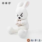 陪伴玩偶可愛兔子公仔毛絨玩具創意【淘夢屋】