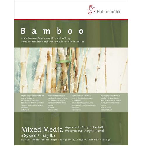 德國Hahnemühle Bamboo-mixed media 竹纖維水彩紙*106 285 41