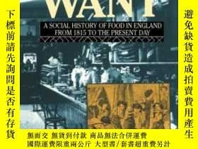 二手書博民逛書店Plenty罕見And Want, Third EditionY256260 John Burnett Rou