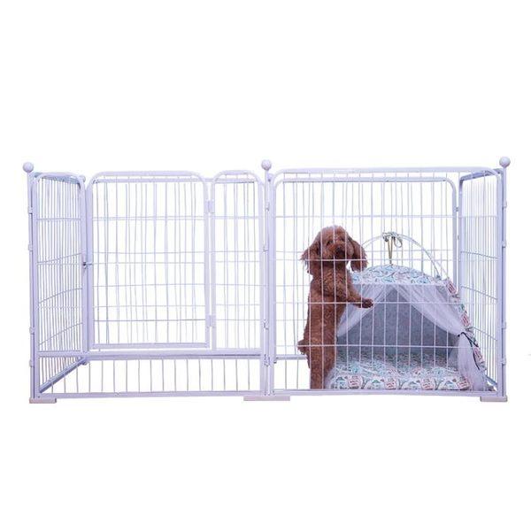寵物圍欄 寵物狗狗圍欄室內大型犬金毛狗籠子小型中型犬泰迪柵欄室外隔離門