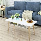 茶几簡約現代小戶型客廳茶几桌子橢圓形簡易多功能北歐創意迷你茶桌wy【奇趣家居】