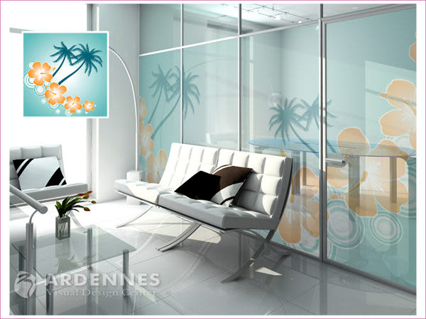 【ARDENNES】防水壁貼 壁紙 牆貼 / 磨砂面 亮面 / 玻璃透明貼紙 GS-035