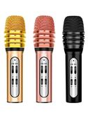 W11全民k歌麥克風手機全名k歌神器唱歌專用帶聲卡耳機小話筒