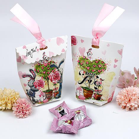 幸福婚禮小物❤DIY歐式喜糖盒❤迎賓禮/二次進場/活動小禮物/送客禮/喜糖盒