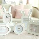 韓式情侶童心動物相片框 可愛寶寶創意照片框擺台 【全館免運】
