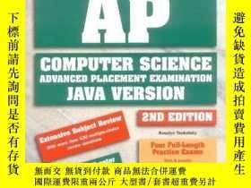 二手書博民逛書店How罕見To Prepare For The Ap Computer Science Exam (barron