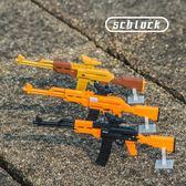 拼裝積木兼容樂高成人絕地求生男孩軍事玩具【聚寶屋】