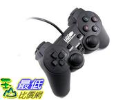 [107玉山最低比價網] 【支援Win10】PC 電腦遊戲用 USB 介面 遊戲手把 單打單振動 PS2外型 隨插即用 W02