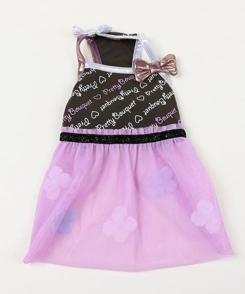 【PET PARADISE 寵物精品】Pretty Boutique 細肩紗裙連身洋裝/紫 (SS) 狗衣服 寵物用品 寵物衣服
