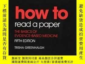 二手書博民逛書店How罕見To Read A PaperY364682 Trisha Greenhalgh Bmj Books
