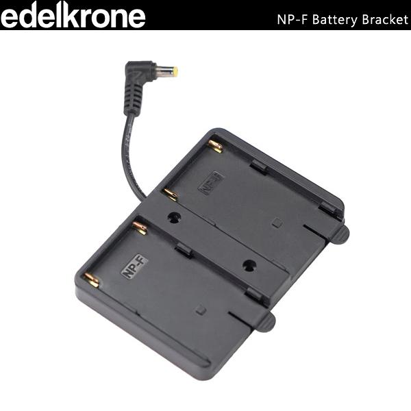 EGE 一番購】土耳其 edelkrone【NP-F Battery Bracket】原廠專用電池背板【公司貨】