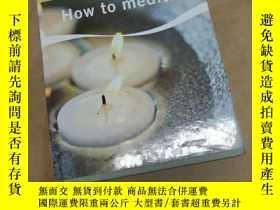 二手書博民逛書店How罕見to meditate: Paul Roland, T