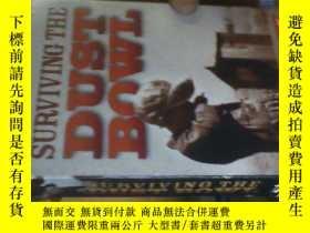 二手書博民逛書店SURVIVING罕見THE DUST BOWL【英文原版錄像帶