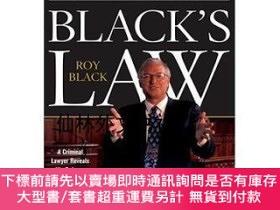 二手書博民逛書店【罕見】Black's Law: A Criminal Lawyer Reveals His...Y