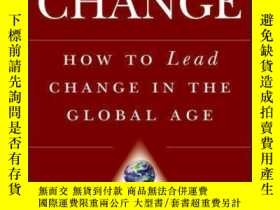 二手書博民逛書店EPIC罕見Change: How to Lead Change in the Global AgeY4100