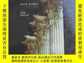二手書博民逛書店Mass罕見Media LawY351159 Don R. Pember W C B 出版1990