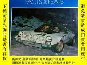 二手書博民逛書店CAR罕見EACTS AND FEATS a record of everyday motoring and au