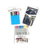 [9東京直購] 現貨 Polaroid 寶麗來 Z2300相機配件-保護袋/12色色筆+相框組