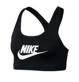 NIKE服飾系列-AS NIKE SWOOSH FUTURA BRA 女款 黑色運動內衣-NO.899371010