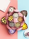 乾果盤 雙層旋轉糖果盒創意現代客廳茶幾零食堅果干果瓜子收納盒家用果盤【快速出貨八折鉅惠】