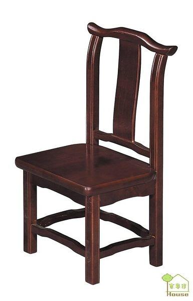[ 家事達] TMT 實木餐椅 (TAR-723)