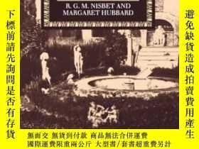 二手書博民逛書店A罕見Commentary On HoraceY364682 R. G. M. Nisbet Oxford U