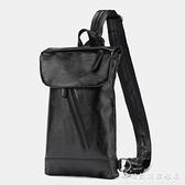 簡約男士小包新款皮質單肩包時尚街頭ipad斜跨包戶外后背包2021潮 科炫數位