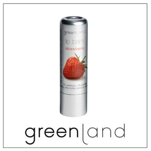 Greenland果漾潤澤草莓護唇膏3.9gr【康是美】