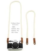 純棉相機背帶肩帶掛繩掛脖單反微單手繩腕帶 文藝可愛掛繩佳能拍立得復古簡約適用 米希美衣